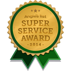 Angies List Service Award For 2014
